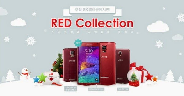 Samsung Launched The Galaxy Note 4 Versions Of Christmas 1