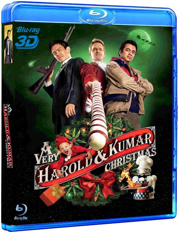 O Natal Maluco de Harold e Kumar (2011) Torrent 3D Half SBS 1080p Dublado
