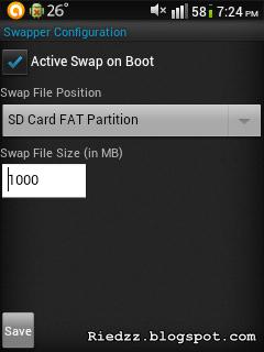 konfigurasi aplikasi swapper