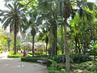 Park Promenade - Malaga, Spain
