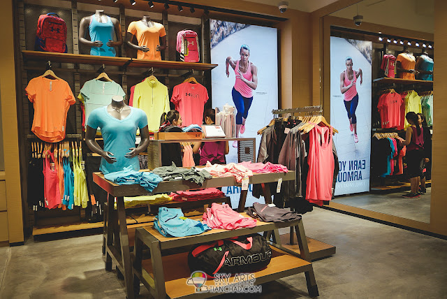 Under Armour Brand Outlet in Mid Valley Megamall - Female wear