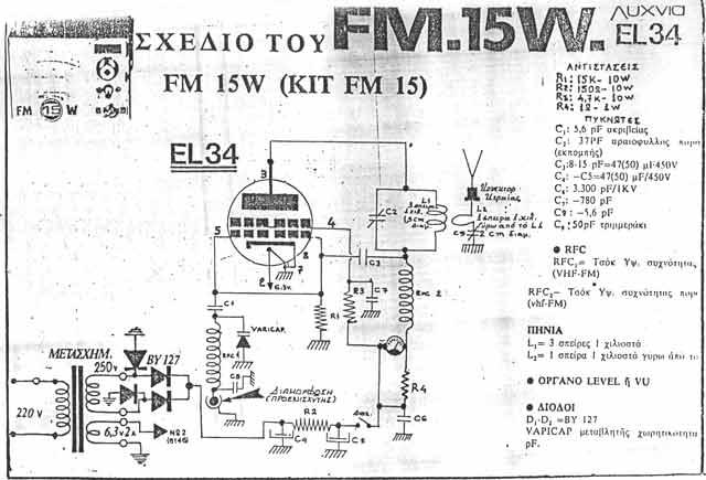 circuitos de radio frecuencia valvulares  circuito