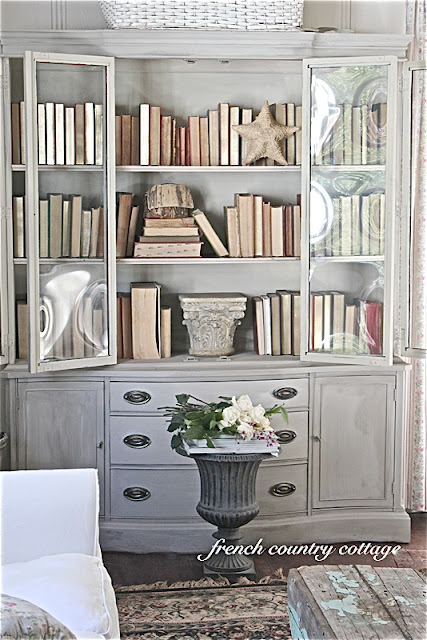 Savvy Southern Style : China Cabinets Art Not Just for Dining Rooms