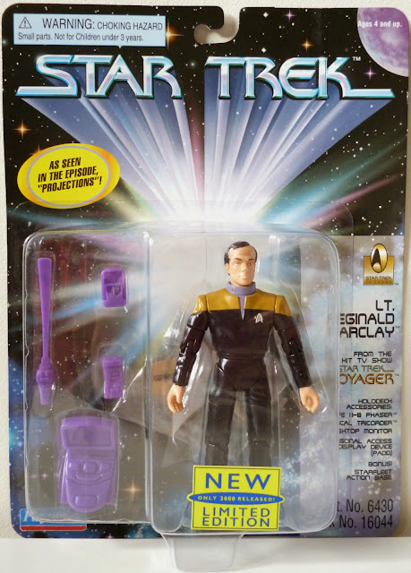 Star Trek Playmates Projections Barclay 1701