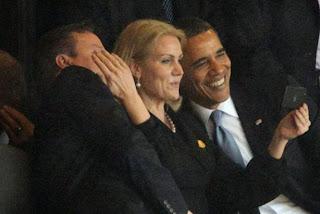 sexy rubia con barack obama presidente de estados unidos