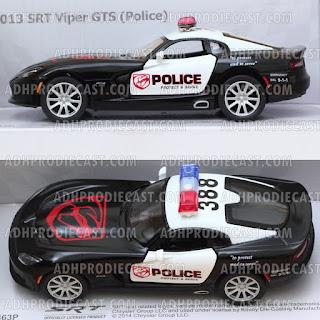 Miniatur SRT Viper GTS 2013 (Police-32K)