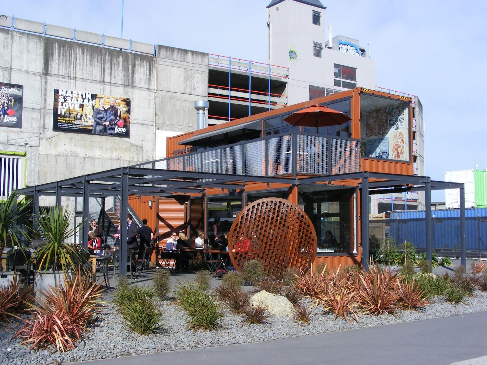 Rachel callaghan landscape architect nz container city for Landscape design courses christchurch nz