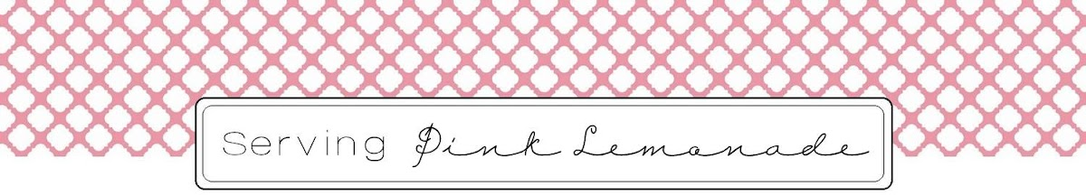 Serving Pink Lemonade