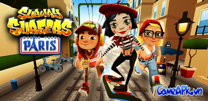 Subway Surfers Paris v1.26.0 hack full mọi thứ cho Android