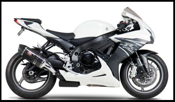 Gambar Foto Modifikasi Motor Terbaru Suzuki GSX-R600 Knalpot Yoshimura  title=