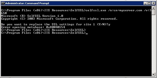 Lane\'s Tech Blog: Creating a Self-Signed SSL Certificate in Windows ...