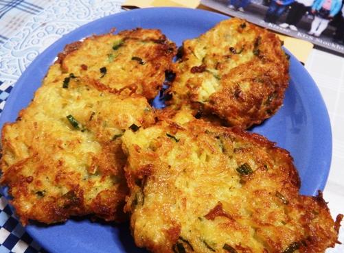 Selain keripik kentang, bisa dibuat bakwan
