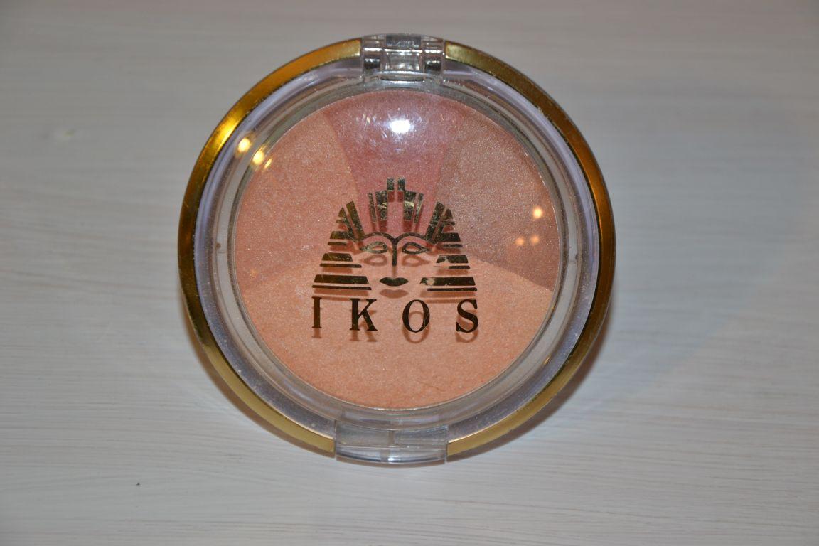 Kosmetyki IKOS - zestaw róży do policzków