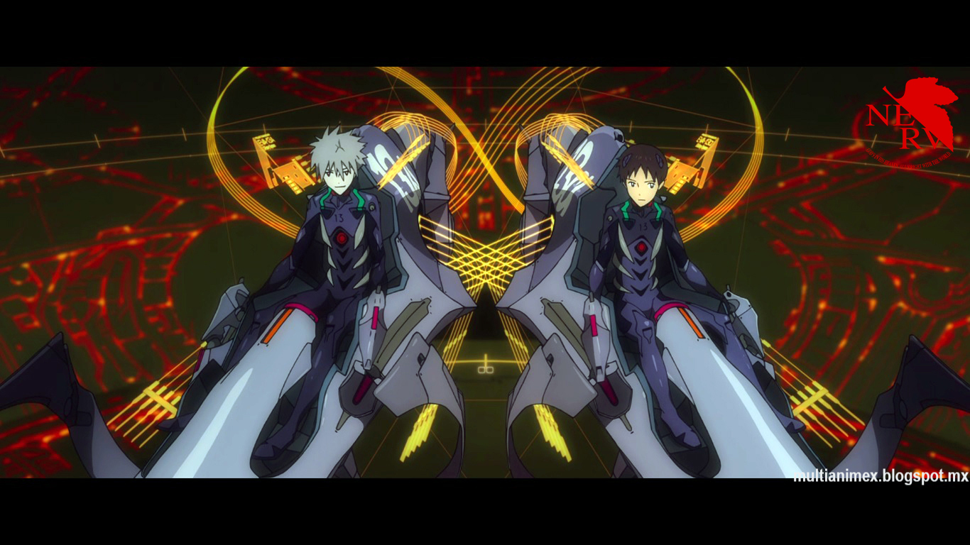 multi anime  evangelion 3 33 you can  not  redo pack de imagenes
