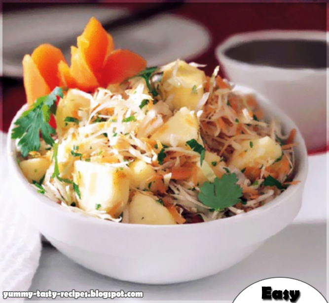 Yummy tasty recipes corn salad with potato finally we hope you like it and dont forget to join us on facebook and twitter above forumfinder Images