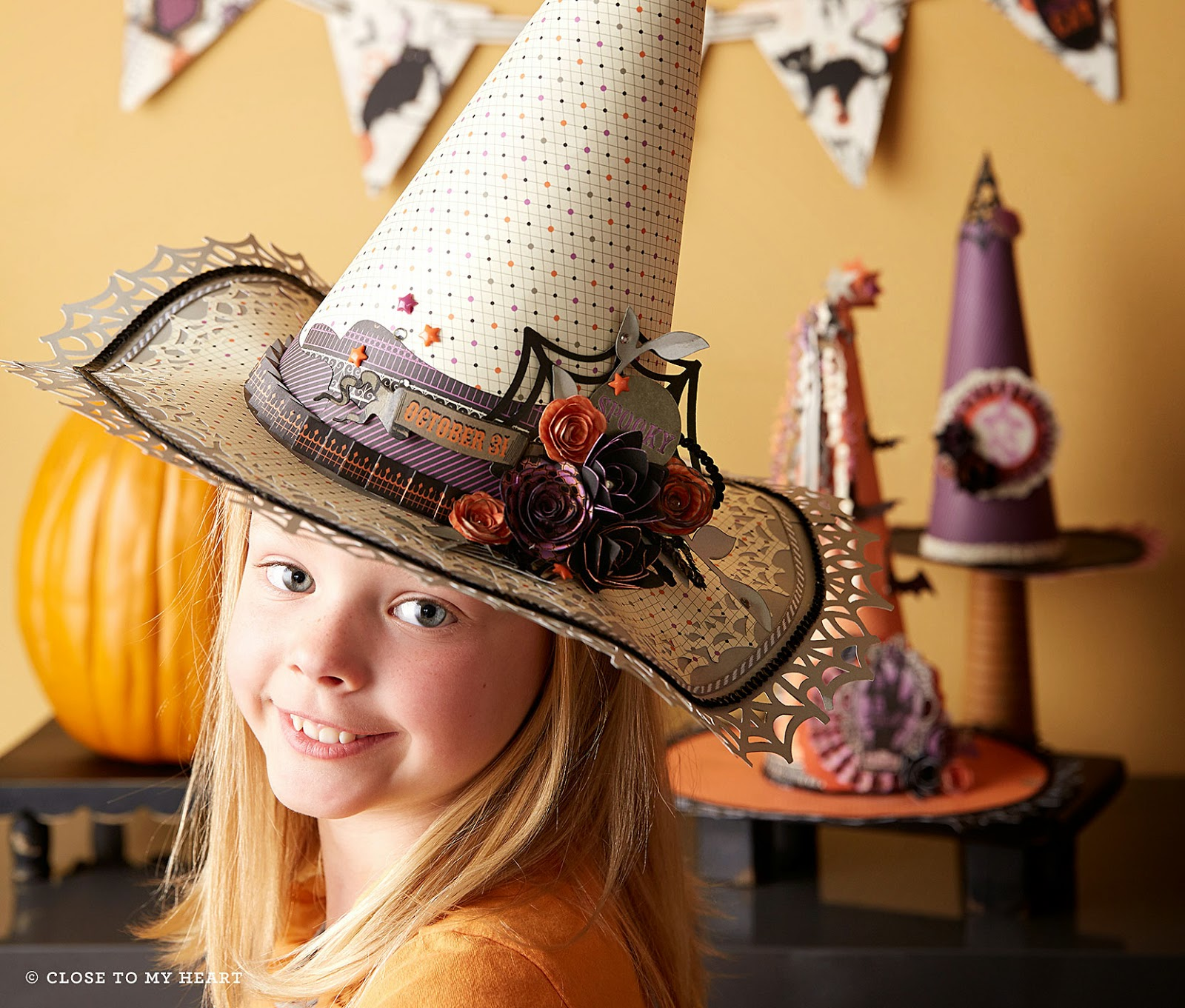 CTMH Scaredy Cat Halloween Party Ideas