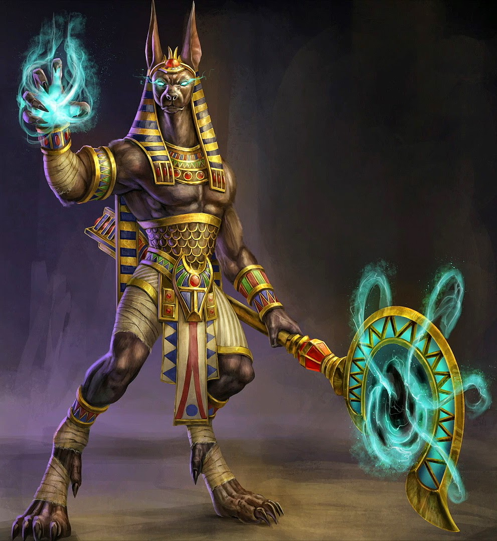 ... expected him to be human-like, like Bastet, but I still like this one