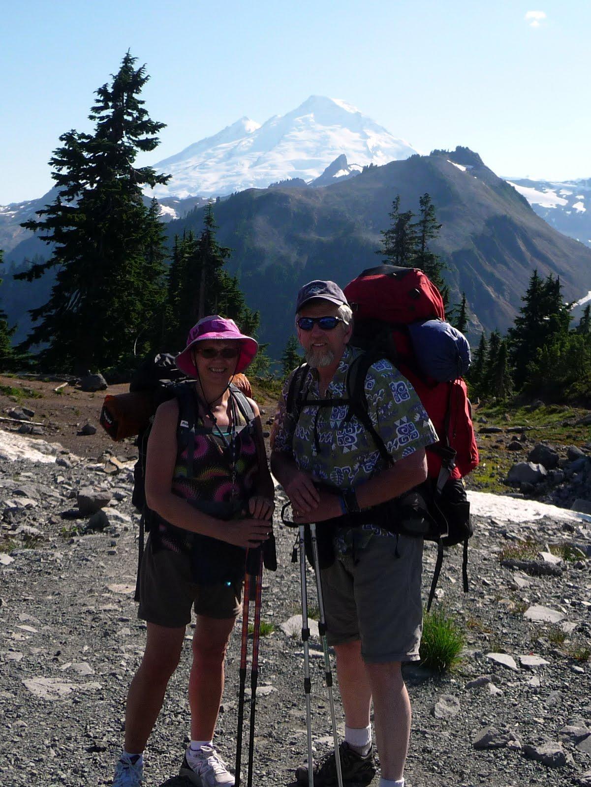 The Love-Burkes go hiking