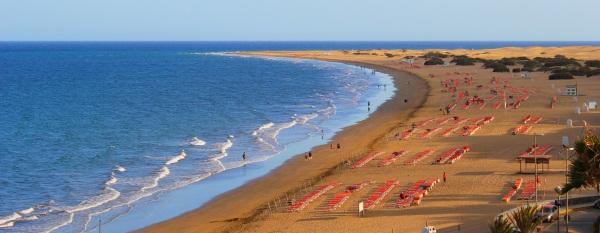 Plaża del Ingles Gran Canaria
