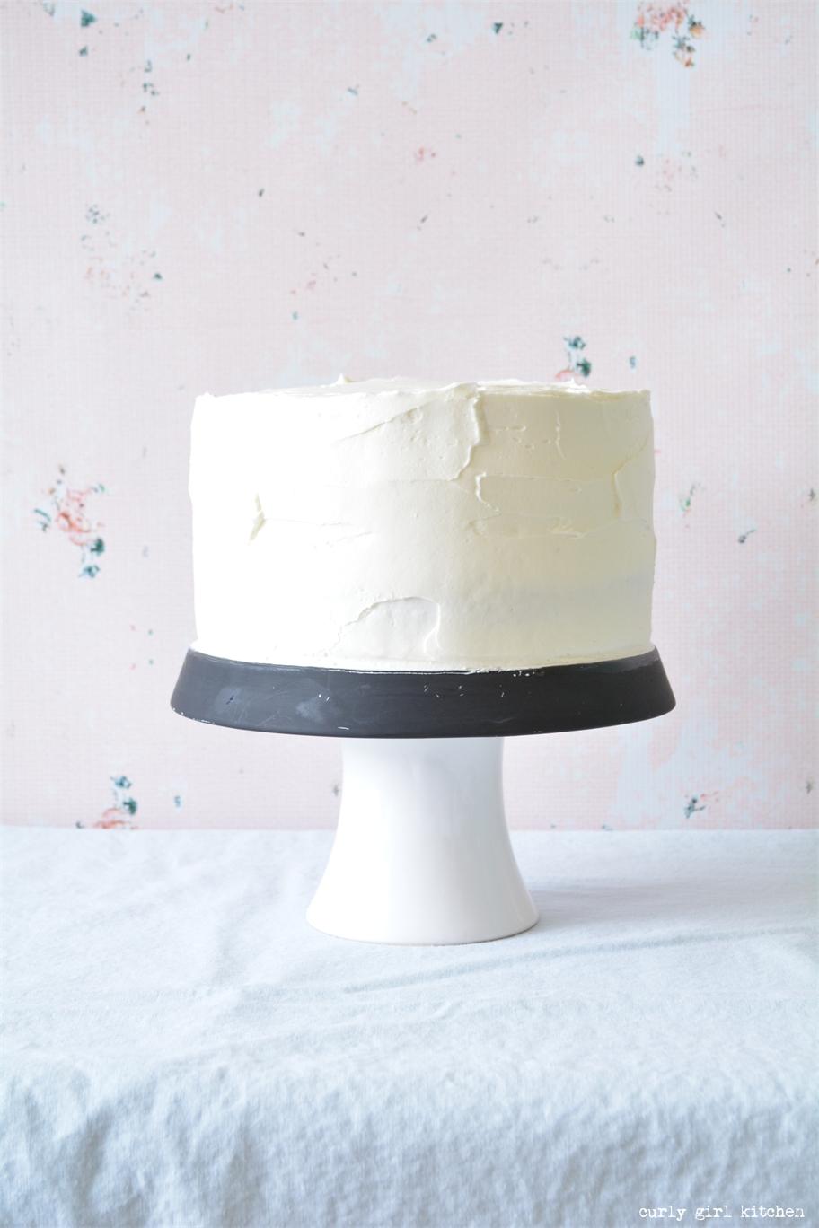 Curly Girl Kitchen: Just a Vanilla Cake Recipe