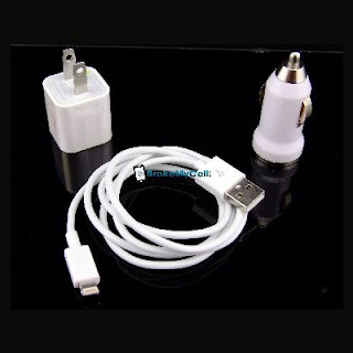3 in 1 Lightning Charger Set for Apple iPhone 5
