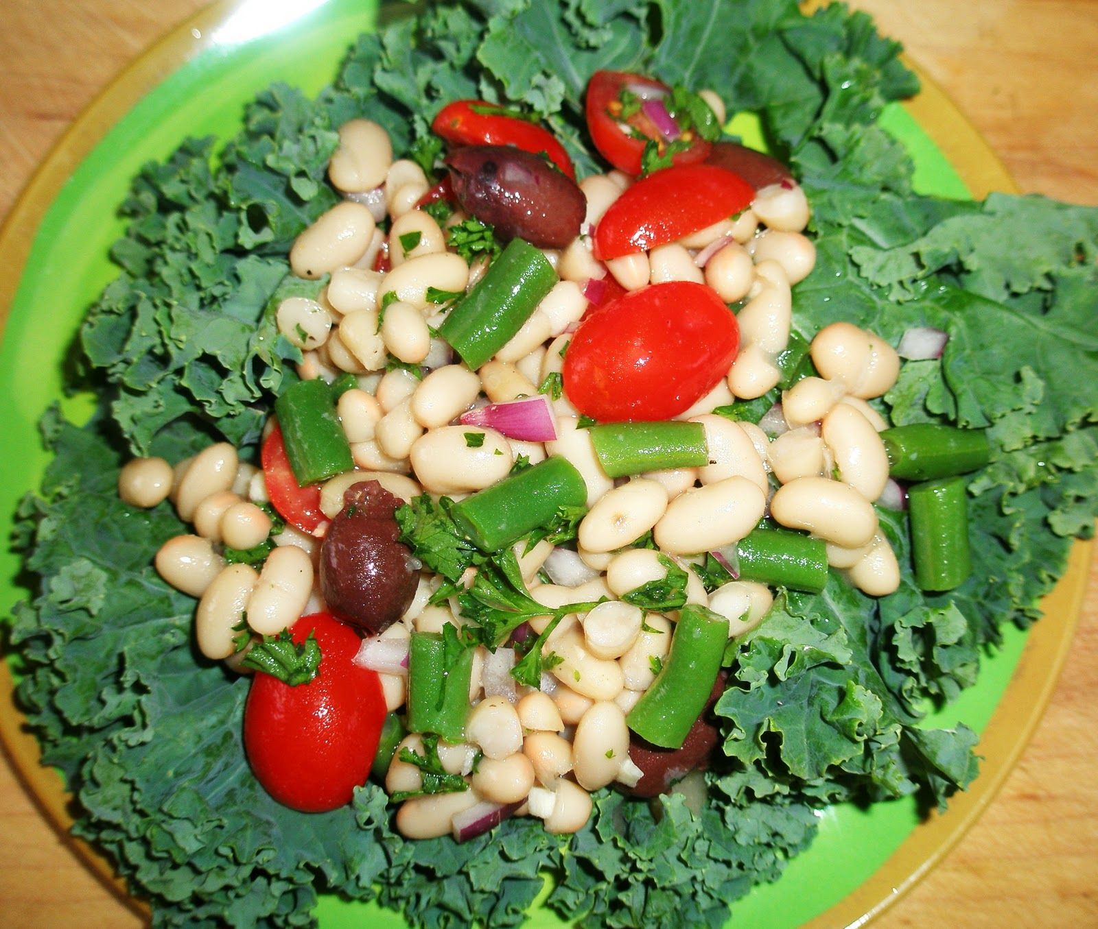 ... around a hearty salad like the provençal white bean salad page 81