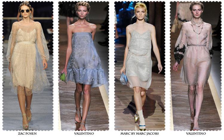 Многослойные Короткие Платья