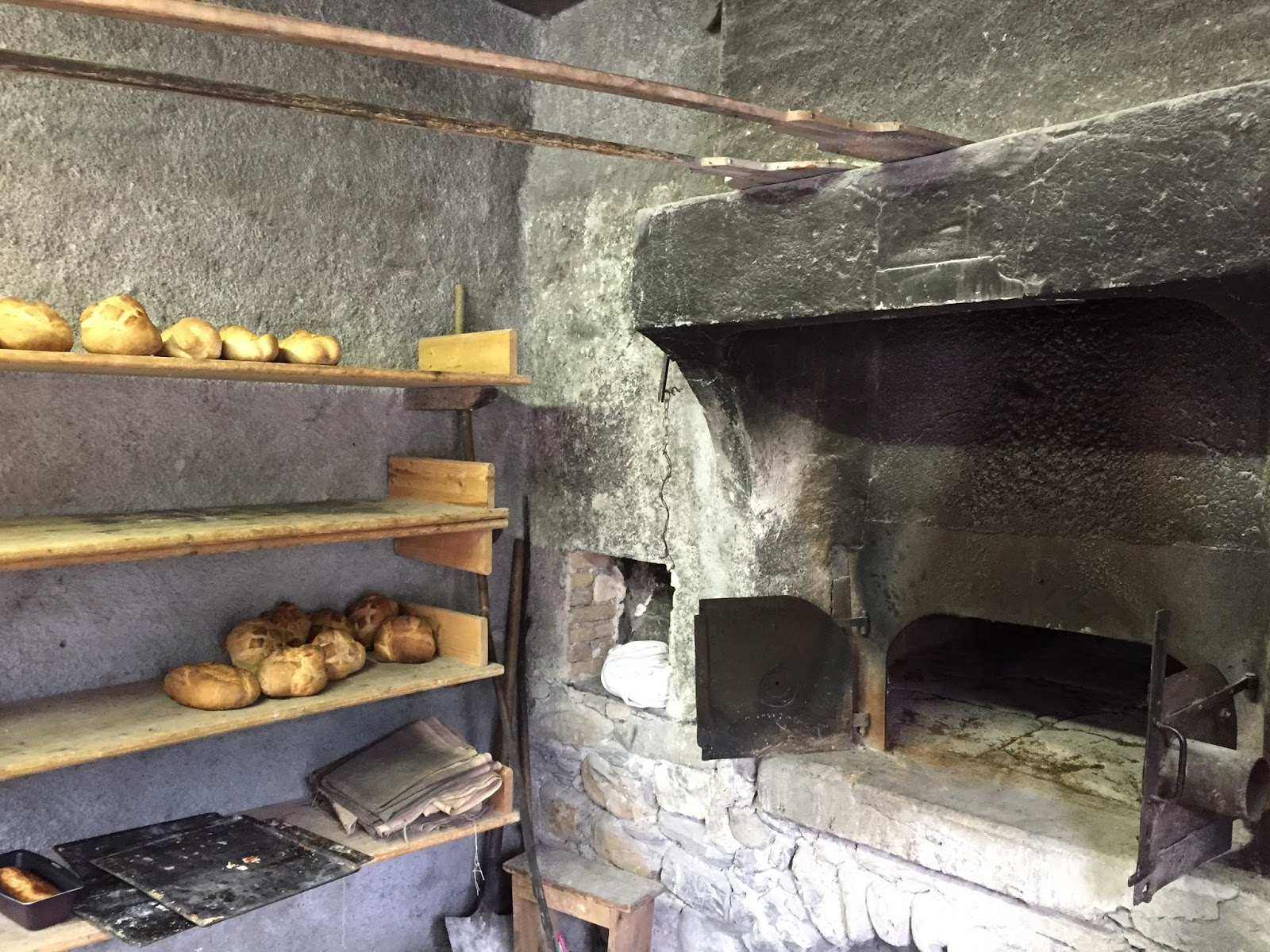 This Particular Bakery Four Des Bellarots Oven Is Located In A Small Village The Parc National De Mercantour Southeastern France
