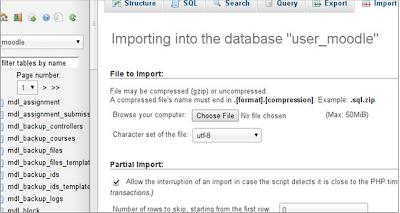 MySQL Import?