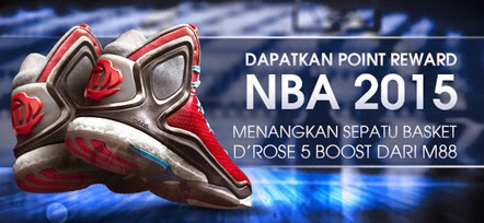 Dapatkan Poin Reward NBA 2015 Dari M88