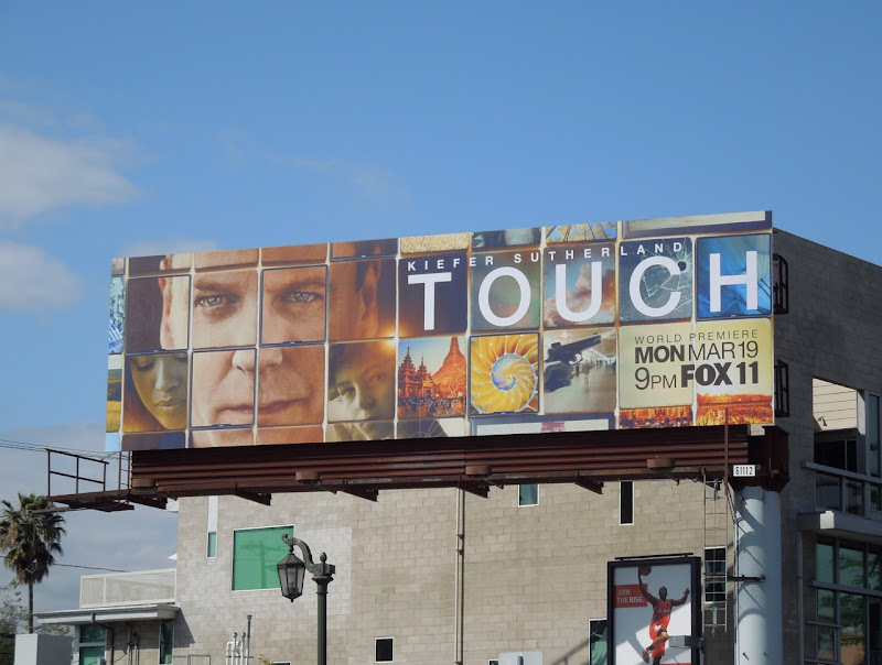Touch TV billboard
