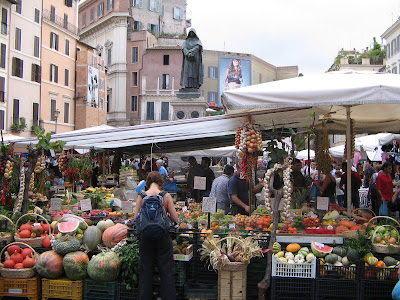 Campo dei Fiori Roma viajes y turismo