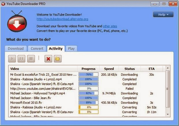 Download YouTube Video Downloader 4.8 Pro Free