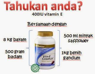 kebaikan vitamin e shaklee