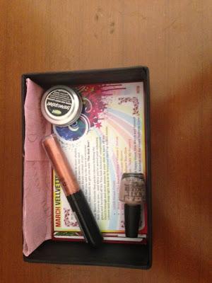 march vellvette box