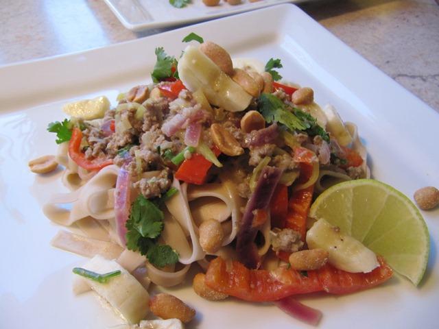 grøn karry wok
