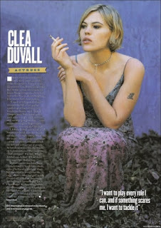 Clea Duvall Smoking