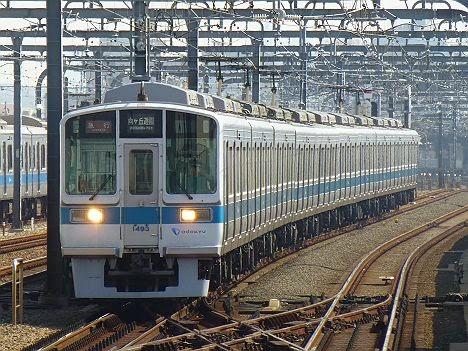 小田急電鉄 急行 向ケ丘遊園行き2 1000形(H26.3.17部分運休に伴う運行)
