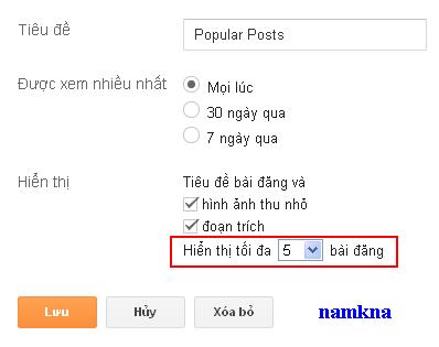 Cool Popular Posts style đẹp cho bài đăng phổ biến