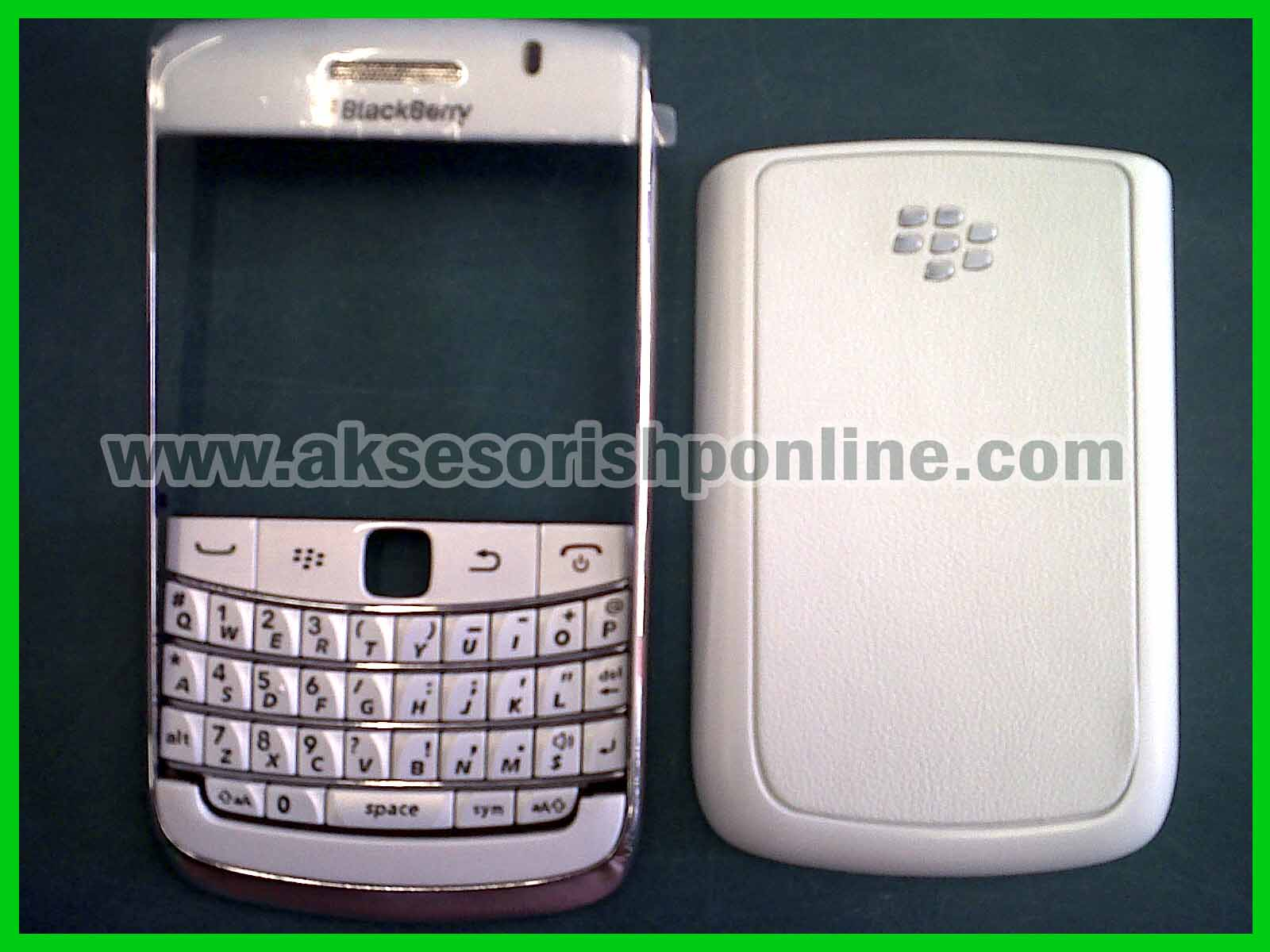 Casing Original Blackberry 9780 white edition: