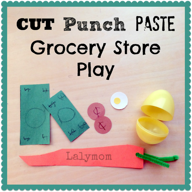 Fine Motor Skills Grocery Store Activities for Kids from Lalymom