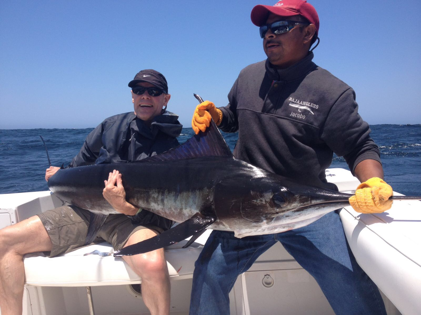 Baja anglers the best day ever fishing for Best day to fish