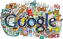 Doodle Google Bertema Abstrak, Peringati Pelukis Agnes Martin