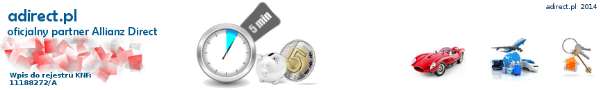 Kod Promocyjny Allianz Direct - do 70% TANIEJ - adirect.pl