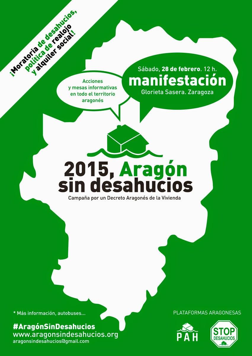 STOP DESAHUCIOS 2015 ARAGON SIN DESAHUCIOS