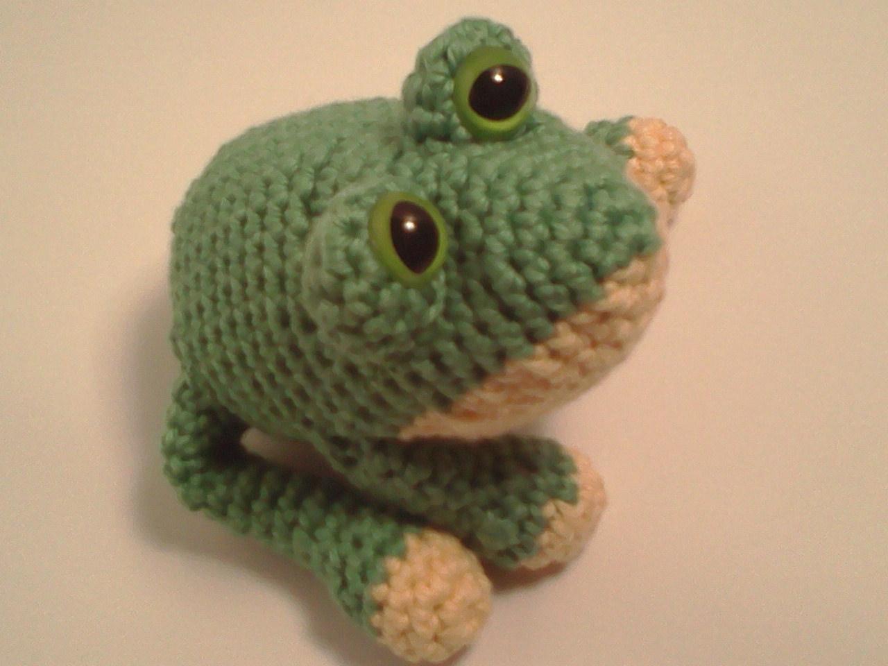 Amigurumi Crochet Frog : Serendipity Creative: Carter Frog AmiPal Amigurumi ...