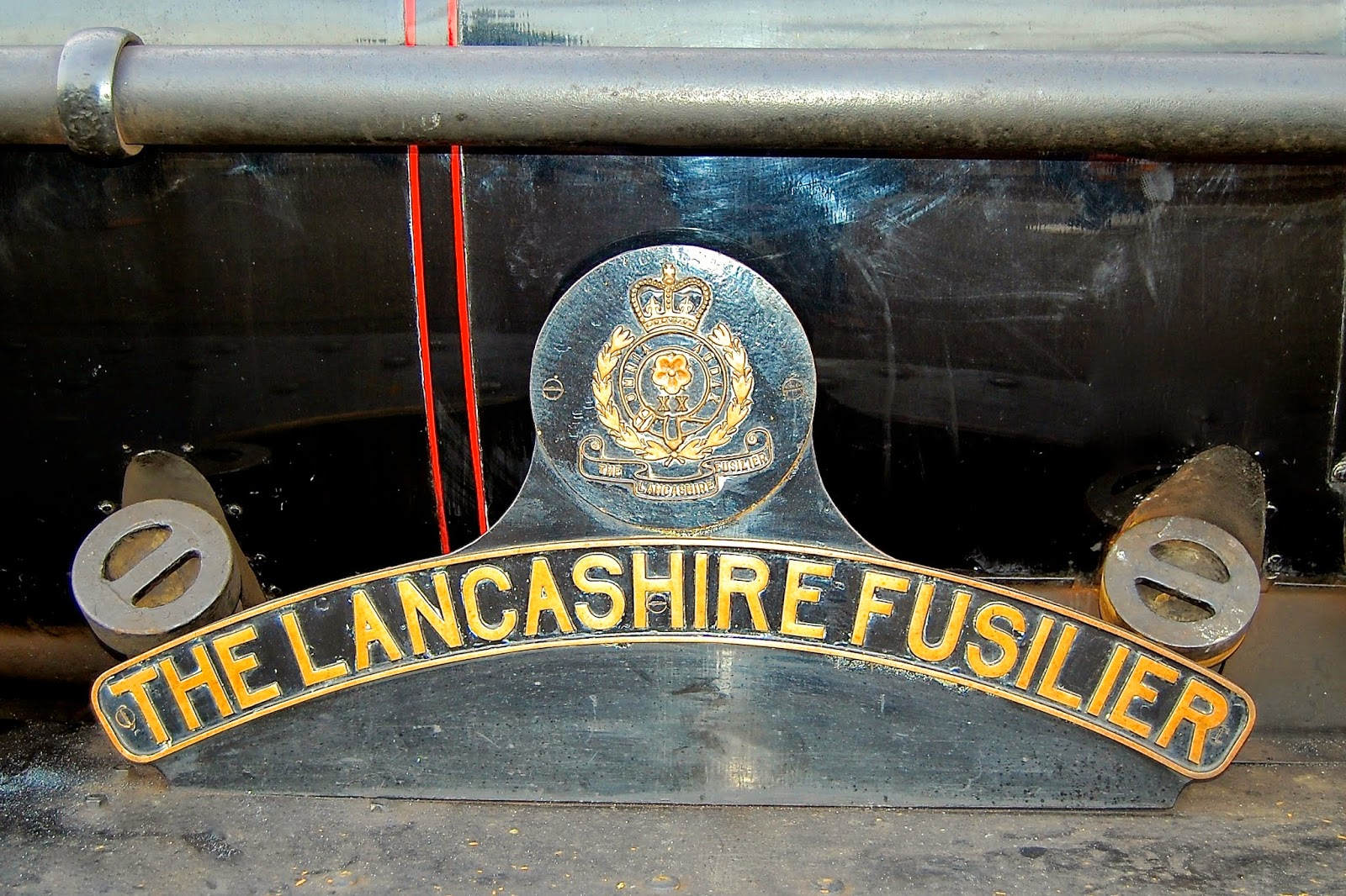 The Lancashire Fusilier engine for the Jacobite Steam Train