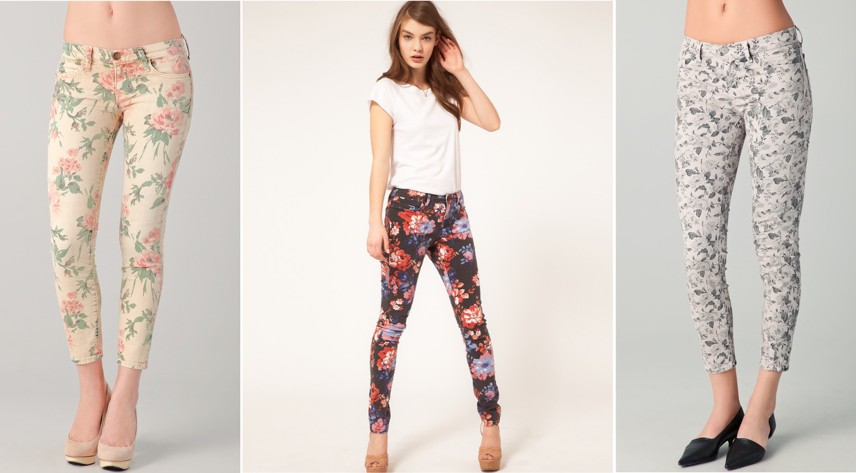 Everything for women fashion 25 summer printed jeans trend