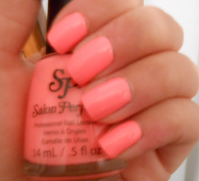 Nail Polish Coral Neon