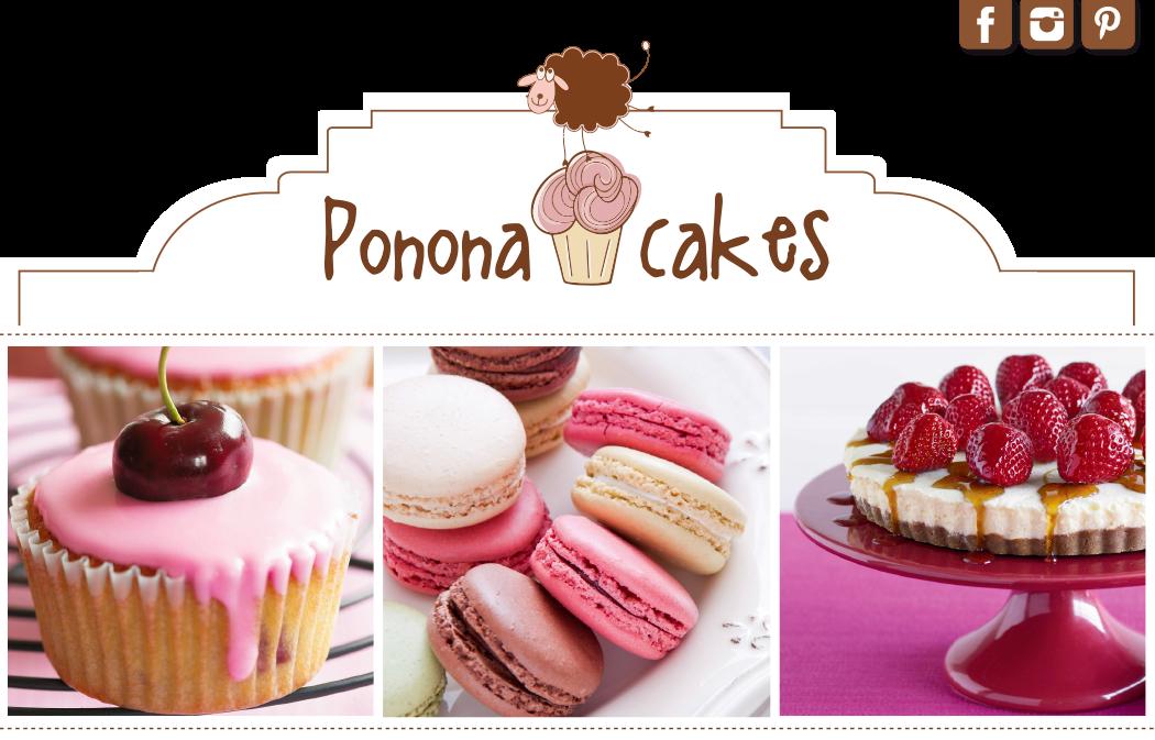 Ponona Cakes - Diseño de tartas - Cantabria